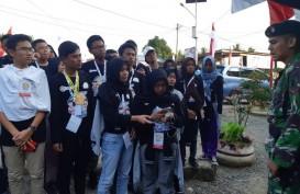 Rayakan HUT Ke-73 RI, Siswa Mengenal Nusantara Kunjungi Sebatik