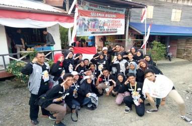 23 Pelajar Jakarta Antusias Kunjungi Perbatasan RI