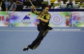 Atlet Putri Wushu China Unggul di Nanquan & Nandao