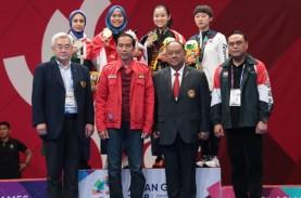 Sumbang Emas Pertama Indonesia, Defia: Alhamdulillah