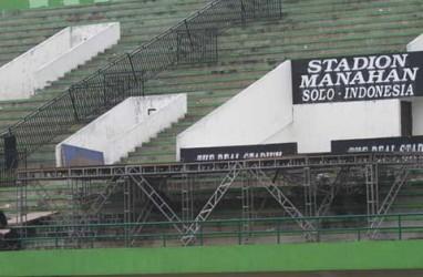 Direnovasi Rp0,3 Triliun, Stadion Manahan Jadi Mini GBK
