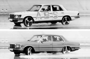 World Premiere 1978 di Mercedes-Benz S-Class, ABS Berumur 40 Tahun
