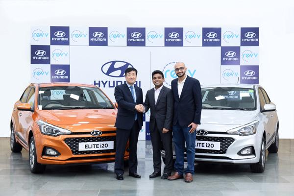 Hyundai Motor, yang merupakan satu-satunya perusahaan otomotif di kalangan investor Revv.  - HYUNDAI
