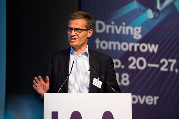 Kurt-Christian Scheel, Managing Director German Association of the Automotive Industry (VDA)  - IAA