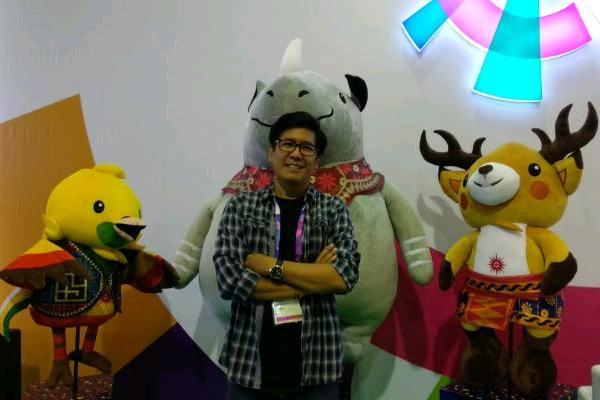 Koreografer Denny Malik. (Nur Faizah - Bisnis)