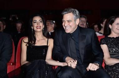 Aktor George Clooney Aktor Berpenghasilan Terbesar Menurut Forbes