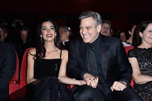 George Clooney dan istrinya Amal Clooney - Istimewa
