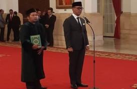 Agus Gumiwang, Anak Menteri Era Orde Baru, Dilantik Jadi Mensos