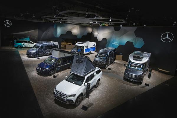 Van karavan masa depan - bebas emisi dan terhubung.  - DAIMLER