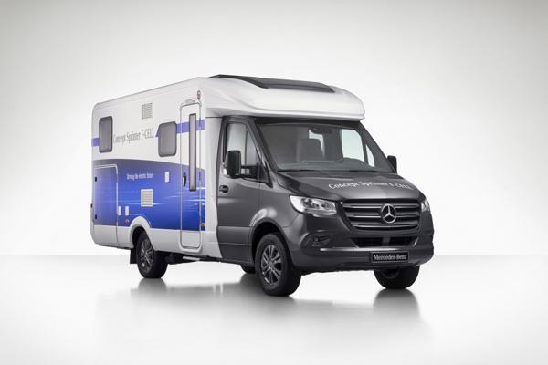 Mercedes-Benz Van Concept Sprinter F-Cell.  - DAIMLER