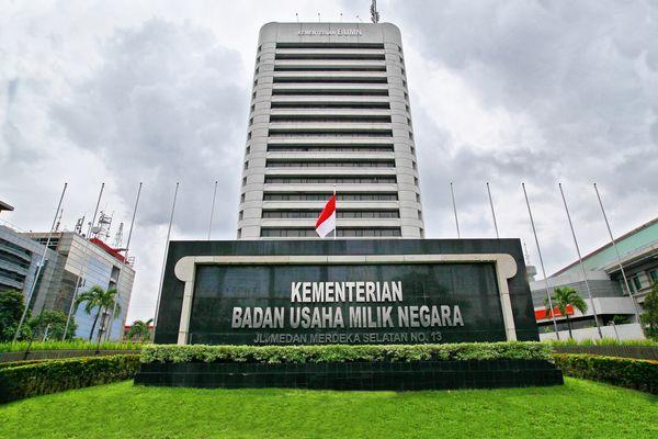 Gedung Kementerian BUMN di Jakarta. - bumn.go.id