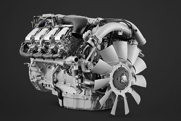 Mesin V8 Scania.  - SCANIA AB