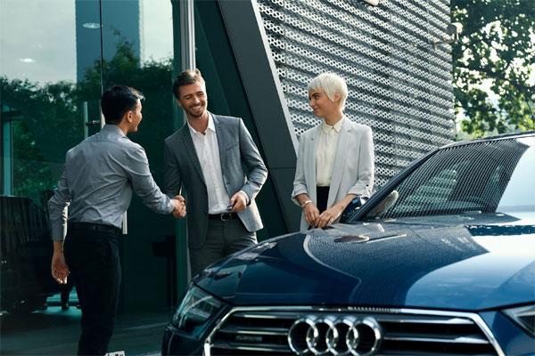 Untuk pertama kalinya, Audi sekarang juga menawarkan pelanggannya di Manchester, Edinburgh, dan Glasgow, sebuah cara yang sangat fleksibel dan mudah untuk mengakses mobilitas premium. - AUDI AG