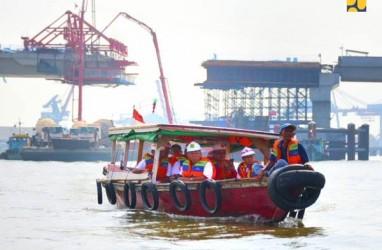 Pembangunan Jembatan Musi IV Sudah 90,3%