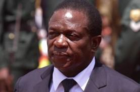 Presiden Zimbabwe Resmi Dijabat Emmerson Mnangagwa…