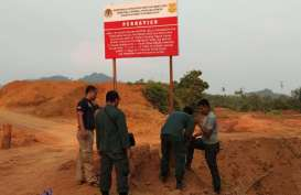 KLHK Gerebek dan Sita 7 Ekskavator Tambang diHabitat Orang Utan Sungai Tulak Ketapang