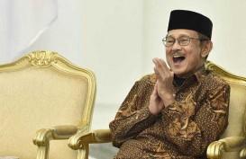Presiden Jokowi Jenguk BJ Habibie di RSPAD Gatot Subroto