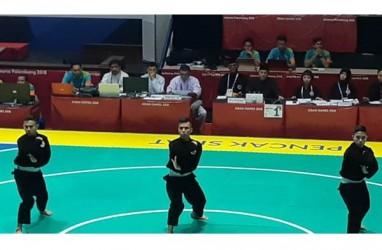 Indonesia Pesta Emas, Trio Atlet Putra Persembahkan Emas Ketiga Silat