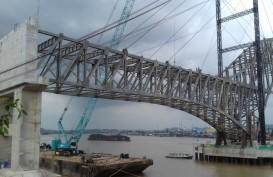 Jembatan Mahakam IV Diyakini Rampung Tahun Ini