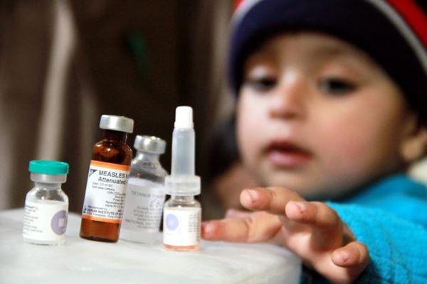 Vaksin MR (Measles Rubella) dari Serum Institute of India (SII). - Istimewa