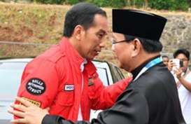 Presiden Jokowi dan Prabowo Subianto Saksikan Final Silat Asian Games 2018
