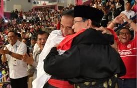 Ketika Olahraga Mempersatukan Jokowi dan Prabowo, Dua Capres RI 2019