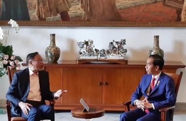 Presiden Jokowi Terima Anwar Ibrahim di Istana Bogor