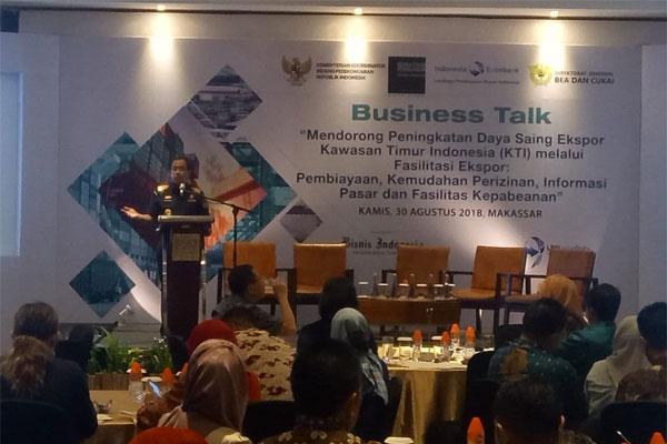 Bea Cukai Dan LPEI Gelar Temu Wicara Dengan Eksportir Di Kawasan Timur Indonesia