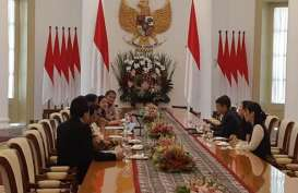 """Presiden Jokowi Tantang Jack Ma Tiru Aksinya """"Melompat"""" Pakai Motor di Pembukaan Asian Games 2018"""