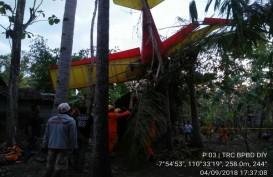 Pesawat Latih Jatuh di Gading, Playen, Gunung Kidul