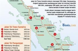 Pembangunan Tol Trans-Sumatra Ini Kemungkinan Tak Sesuai Jadwal, Kenapa?