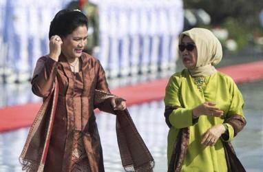 Mufidah Kalla Lantik Ketua Dekranasda Sumut