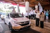 Honda CR-V Turbo Mulai Ekspedisi Jalur Darat 34 Gubernur