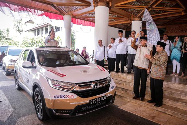 Jelajah Nusantara Honda CR-V Turbo.  - HONDA