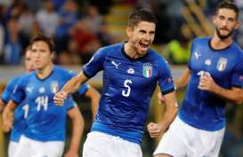 Hasil UEFA Nations League: Jorginho Selamatkan Italia di Hadapan Polandia