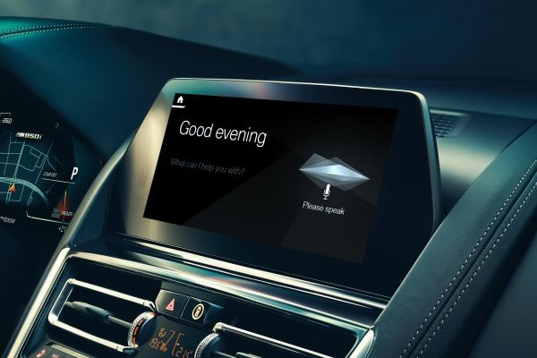 BMW Intelligent Personal Assistant.  - BMW
