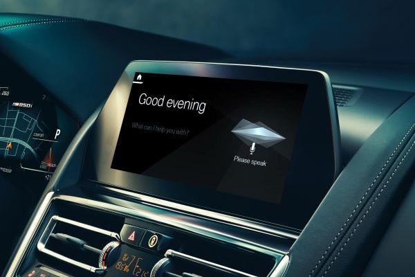 BMW Intelligent Personal Assistant. - BMW
