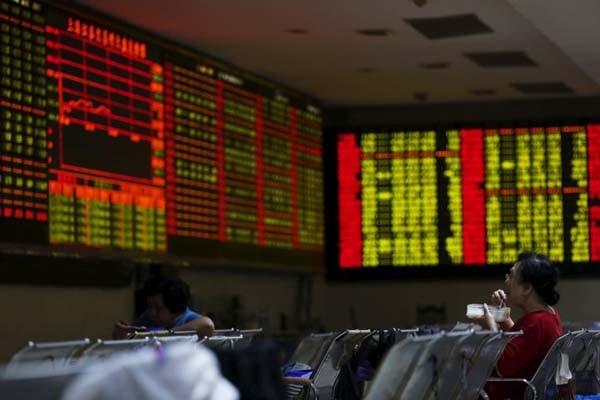 Aktivitas di Bursa Efek Shanghai - Reuters