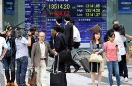 AS-China Saling Serang, Bursa Asia Turun