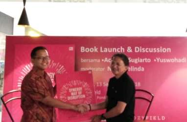 "Direktur Telkom Sigma Luncurkan Buku ""Synergy Way of Disruption"""