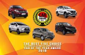 Inilah Lima Mobil Finalis Forwot Car of the Year 2018
