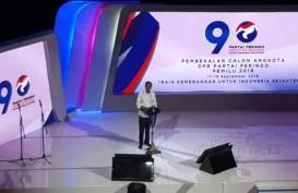 Hadiri Pembekalan Caleg Perindo, Presiden Jokowi Sebut Pemilu 2019 Pengalaman Berharga