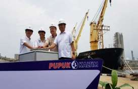 Menteri BUMN Lepas Pengapalan Ekspor 20.000 Ton Pupuk Urea ke Filipina