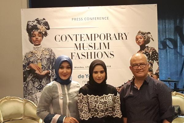 Press Conference Contemporary Muslim Fashions - Asteria Desi Kartika Sari