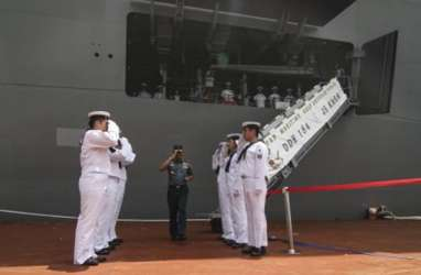 3 Kapal Perusak Jepang Hadir di Tanjung Priok. Lakukan Open Ship Dua Hari