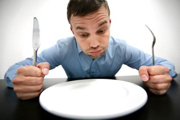 Ilustrasi kelaparan. - Istimewa