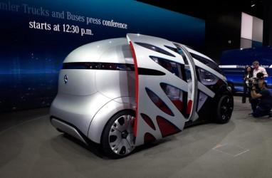 LAPORAN DARI HANNOVER: Ini Sosok Mobil Konsep Mercedes-Benz, URBANETIC. Bisa Melesat tanpa Sopir
