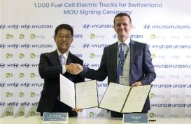 Hyundai & H2E Kolaborasi Pasok 1.000 Truk Listrik Hidrogen ke Pasar Swiss