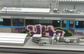 Belum Beroperasi Kereta MRT Jakarta Sudah Kena Aksi Vandalisme