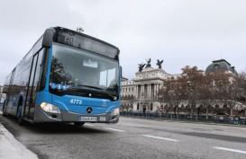 672 Bus Mercedes-Benz Citaro Bahan Bakar Gas Segera Beroperasi di Madrid